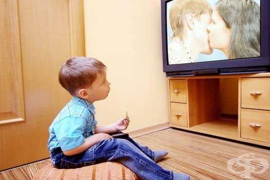 Децата, които гледат твърде много телевизия, са по-склонни към престъпни прояви - изображение