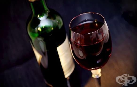 Ресвератролът в червеното вино може да понижи високото кръвно налягане - изображение