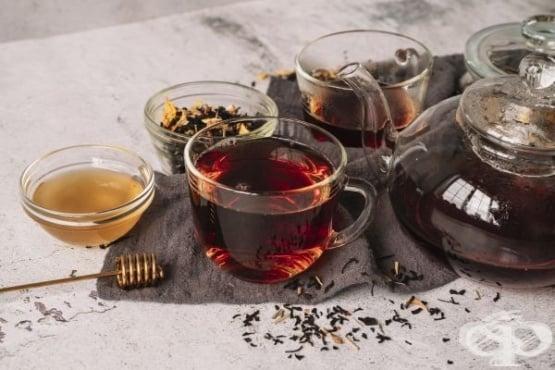 Черният чай помага за отслабване - изображение