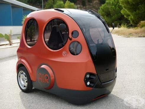 Новият автомобил Tata AirPod - 100% екологичен - изображение