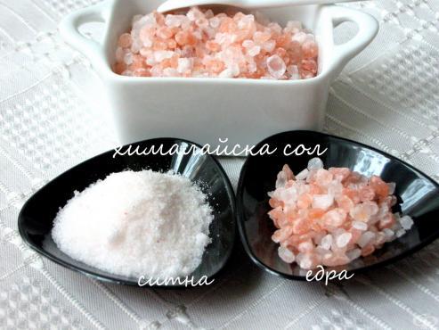 Можем ли да заместим трапезната сол и с какво? - изображение