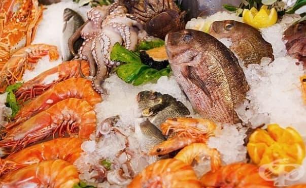 Алергията към морски дарове рядко се израства - изображение