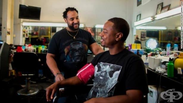 Как посещението в бръснарницата спомага за снижаване на кръвното налягане - изображение