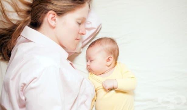 Причини, заради които е полезно бебето да спи при вас - изображение