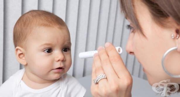 По какво да познаете, че бебето ви има проблем със зрението - изображение