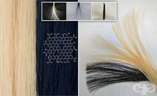 Учени създадоха нетоксична боя за коса с графен - изображение