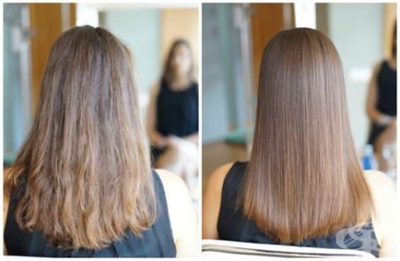 Нов метод трайно възстановява структурата на косъма - изображение