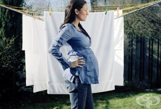 При кои домашни задължения бременните трябва да внимават - изображение