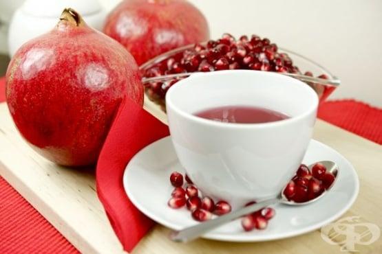 9 причини, поради които да пием чай от кори на нар - изображение