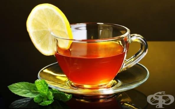 Горещ чай с лимон не е препоръчителен при простуда - изображение