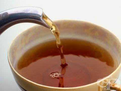 Чаят предпазва от остеопороза - изображение
