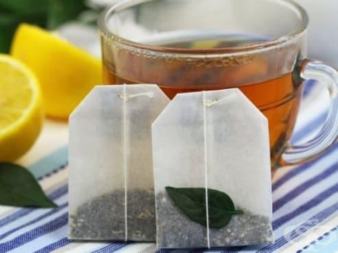 Черен чай в пакетчета застрашава здравето на човек - изображение