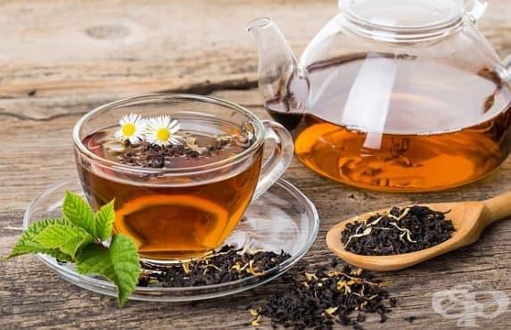 Черният чай подпомага отслабването - изображение