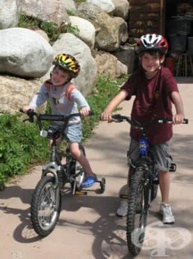 Повечето родители искат децата им да карат колело в помощ на борбата със затлъстяването - изображение