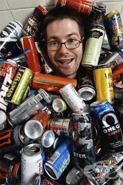Здравни рискове, свързани с висока консумация на енергийни напитки - изображение