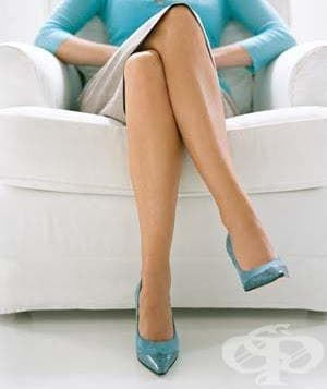 Кръстосването на краката се оказа вредно - изображение