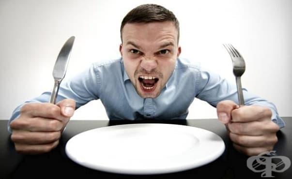 Гладът спира усещането за болка - изображение