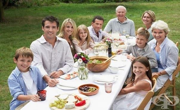 Хората, които имат голямо семейство, по-рядко се разболяват от рак - изображение