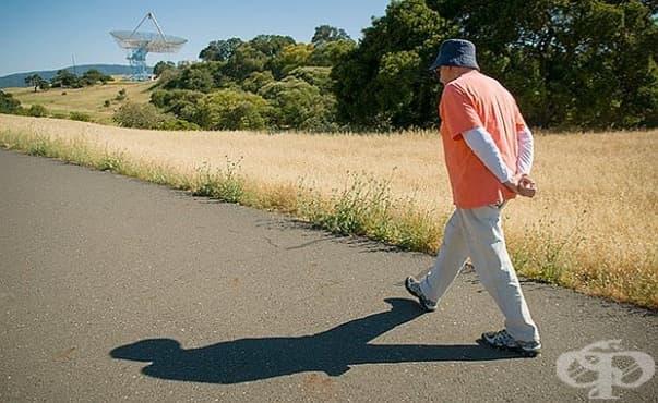 Бавното ходене е предпоставка за по-ранна смърт според учените - изображение