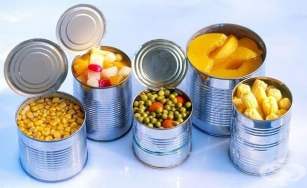 Храната от консерва съдържа наночастици, увреждащи чревния тракт - изображение