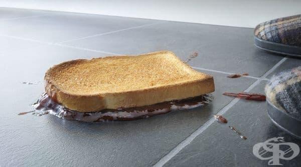 Храна от пода може да се яде до 5 секунди след падане - изображение