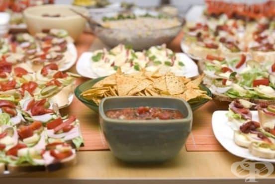 Прекомерният прием на храна предизвиква инфекции - изображение