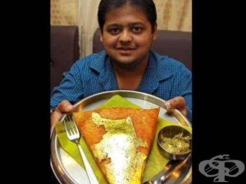 Индийци похапват злато за подобряване на здравето - изображение