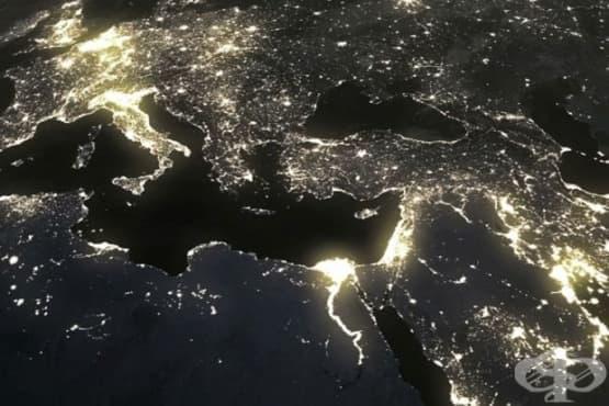 Обилната светлина през нощта влияе лошо на хората - изображение