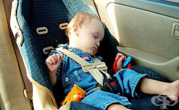 Американче изобрети устройство, което да помага на забравени в колата деца - изображение
