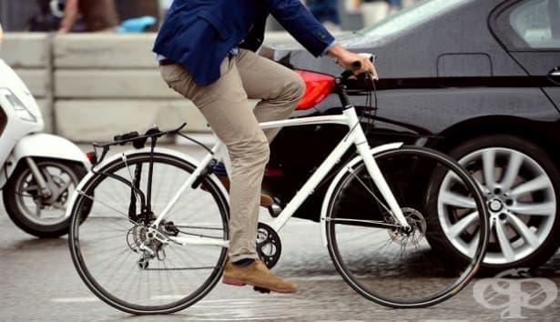 Ходенето на работа с колело е по-полезно от придвижването пеша - изображение