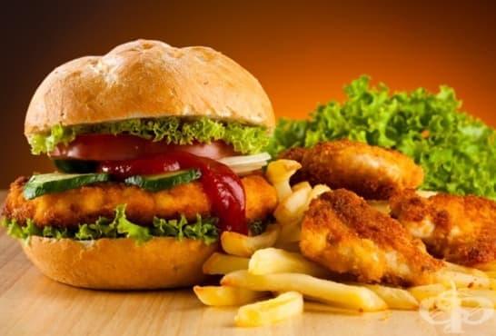 Консумацията на мазни храни може да доведе до топлинен удар - изображение