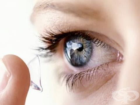 С контактни лещи на басейн и сауна? - изображение
