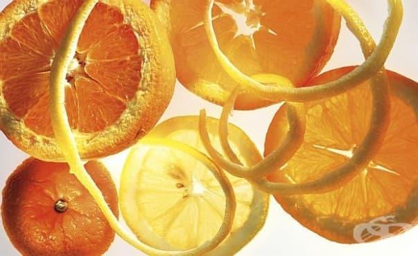Съединение в портокаловата кора помага при киселини - изображение