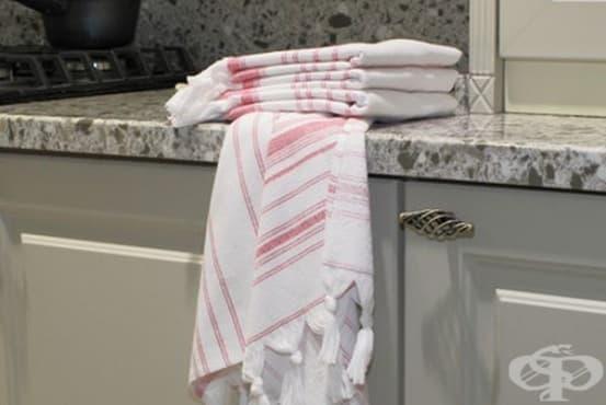 Кухненските хавлиени кърпи са опасни за здравето - изображение