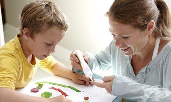 Заниманията на майката с детето допринасят за развитието на неговите когнитивни умения  - изображение