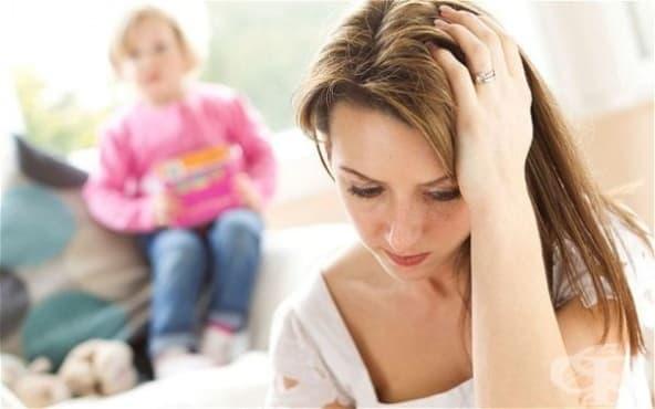 Депресията на майката влияе на бъдещето на детето - изображение