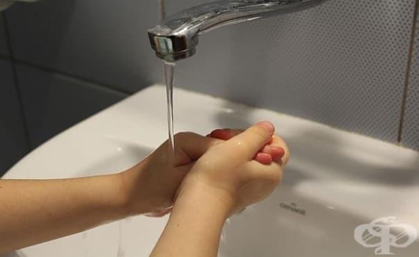 Използването на дезинфектанти от малките деца намалява респираторните инфекции при тях - изображение