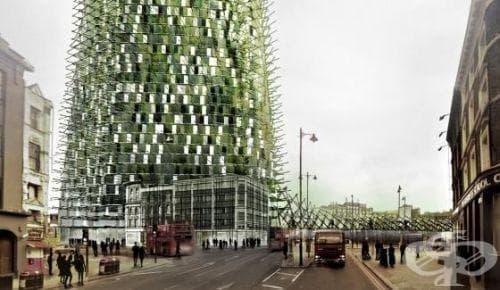 Небостъргач от рециклирани отпадъци? Защо не! - изображение