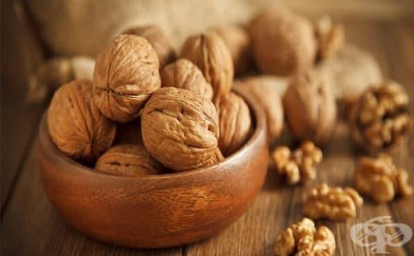 Орехите понижават високото кръвно налягане - изображение