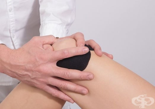 Как да се справим с отока в коляното - изображение