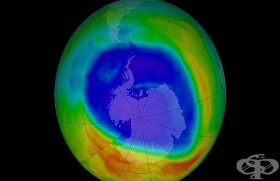 Озоновата дупка се е свила до най-малките си размери - изображение