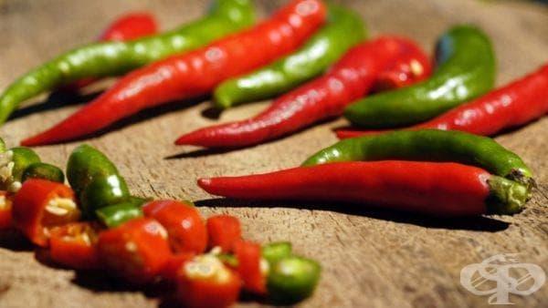 Ще живеем по-дълго, ако консумираме повече пикантни храни - изображение