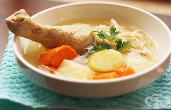 Пилешката супа е вредна за организма - изображение