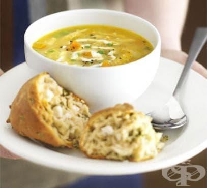 Пилешка супа - вкусна храна и лекарство - изображение