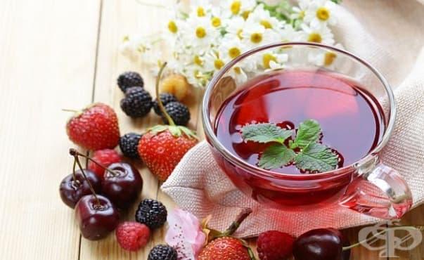 Плодовите чайове и киселите напитки разрушават зъбите - изображение