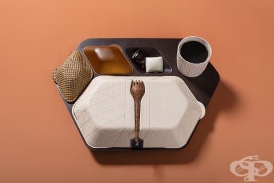 Създадоха прибори за хранене от екологични и годни за консумация материали - изображение