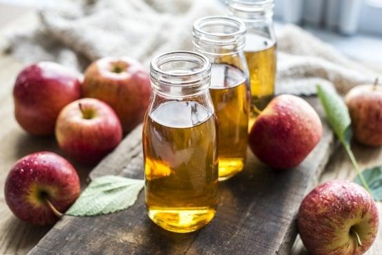 Ябълковият оцет успокоява разширени вени - изображение