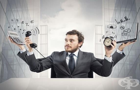 Работохолизмът влияе негативно на физиологичното и душевно здраве на човек - изображение