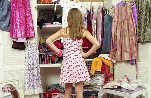 Синдром на препълнения гардероб - изображение