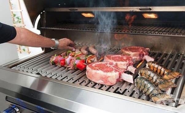 Дори стоенето близо до барбекюто носи риск от рак - изображение